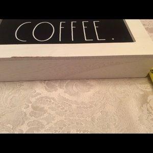 Rae Dunn COFFEE Box Sign
